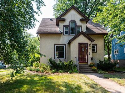 Minneapolis Single Family Home For Sale: 3042 42nd Avenue S