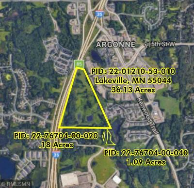 Lakeville Residential Lots & Land For Sale: Pid # 220121053010