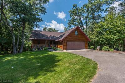 Pequot Lakes Single Family Home For Sale: 33677 Winnamakee Shores Road