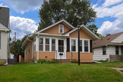 Minneapolis MN Single Family Home For Sale: $229,900