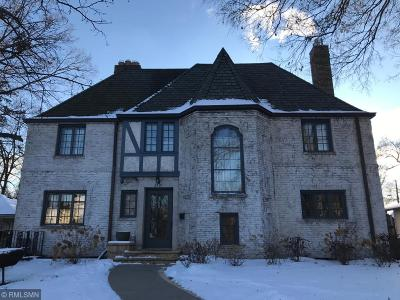 Minneapolis Single Family Home For Sale: 2821 Benton Boulevard