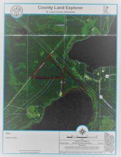 Chisholm, Hibbing Residential Lots & Land For Sale: Tbd Stuart Road