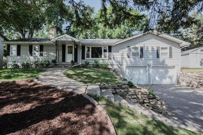 Wayzata, Plymouth Single Family Home Contingent: 3704 Rosewood Lane N
