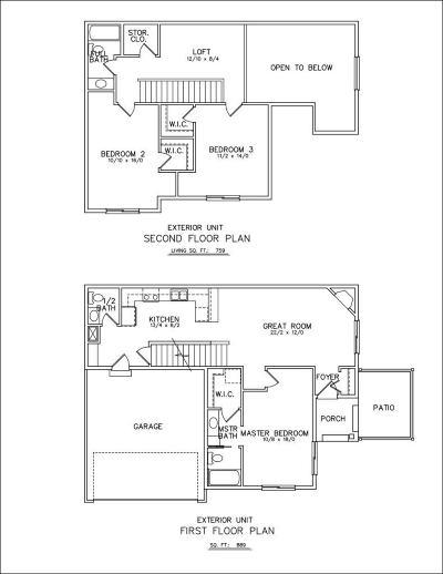 Saint Michael Condo/Townhouse For Sale: 11305 16th Street NE