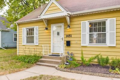 Saint Paul Single Family Home For Sale: 1451 Albemarle Street