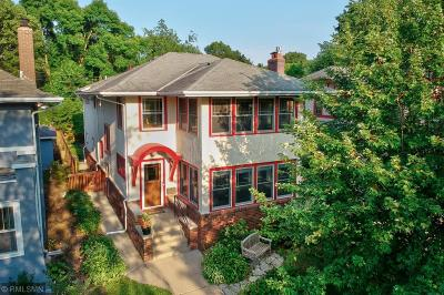 Minneapolis Single Family Home For Sale: 4041 Dupont Avenue S