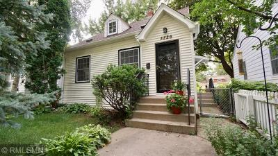 Minneapolis MN Single Family Home For Sale: $268,500