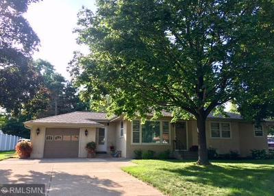 Fridley Single Family Home For Sale: 6810 Hickory Street NE