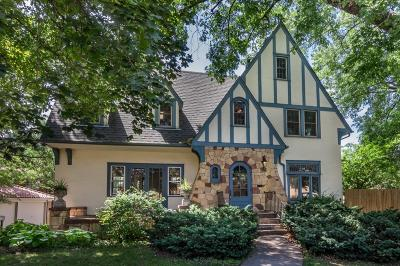 Saint Paul Single Family Home For Sale: 65 Cretin Avenue N