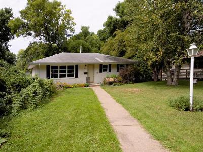 Columbia Heights Single Family Home For Sale: 4120 Polk Street NE