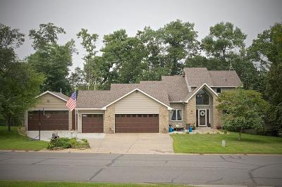 Chisago County, Isanti County, Pine County, Kanabec County Single Family Home For Sale: 2825 E Rum River Drive S