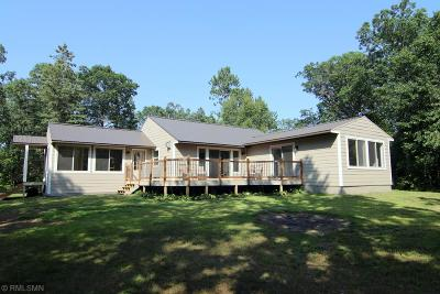Pillager Single Family Home For Sale: 3505 Crow Wing River Drive SW