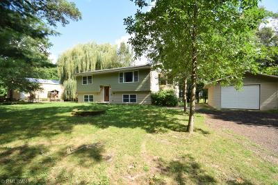 Isanti Single Family Home Contingent: 2685 Long Lake Drive NW