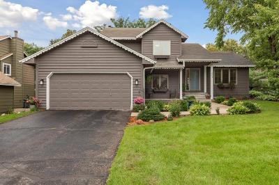 Burnsville Single Family Home For Sale: 1004 Hilloway Circle