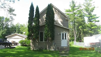 Aitkin MN Single Family Home Sold: $39,900