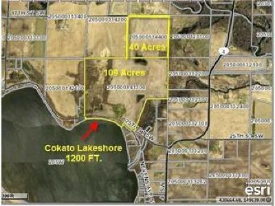Wright County Residential Lots & Land For Sale: 13300 25th Street SW