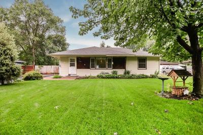 Coon Rapids Single Family Home For Sale: 11832 Larch Street NW