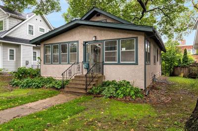 Saint Paul Single Family Home For Sale: 1858 James Avenue