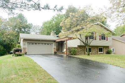 Eden Prairie Single Family Home Contingent: 9805 Friar Drive