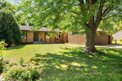 Maple Grove Single Family Home Contingent: 11717 Red Fox Drive