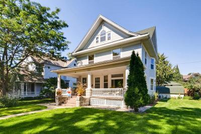 Saint Paul Single Family Home For Sale: 575 Ashland Avenue