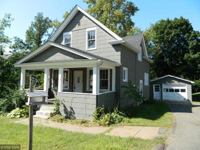 Saint Croix Falls Single Family Home For Sale: 113 S Roosevelt Street