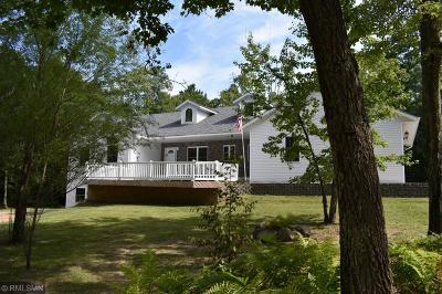 Pequot Lakes Single Family Home For Sale: 27186 Beaver Dam Drive