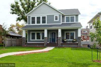 Robbinsdale Single Family Home Sold: 4504 Quail Avenue N