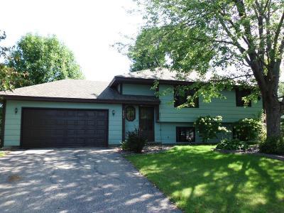 Maple Grove Single Family Home Contingent: 8694 Xenium Lane N