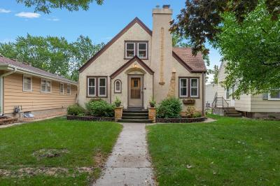 Robbinsdale Single Family Home Sold: 3908 Orchard Avenue N
