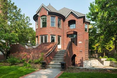 Minneapolis Single Family Home For Sale: 1704 Kenwood Parkway