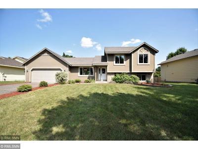 Andover Single Family Home Contingent: 14359 Bluebird Street NW