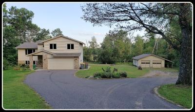 Isanti Single Family Home For Sale: 2844 Long Lake Drive NW