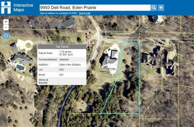 Eden Prairie Residential Lots & Land For Sale: 9993 Dell Road