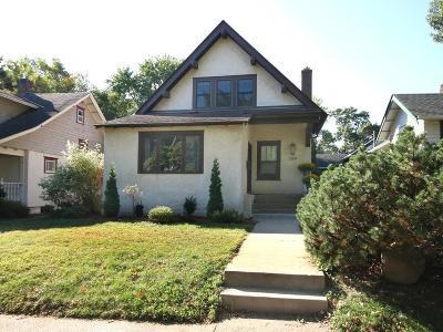 Saint Paul Single Family Home For Sale: 1384 Grand Avenue