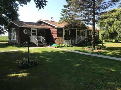 Sibley County Single Family Home For Sale: 38832 336th St