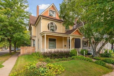 Saint Paul Single Family Home For Sale: 817 Hague Avenue