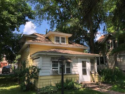 Minneapolis MN Single Family Home For Sale: $99,900