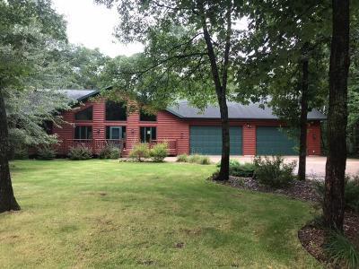 Crosslake Single Family Home For Sale: 37627 Egret Road