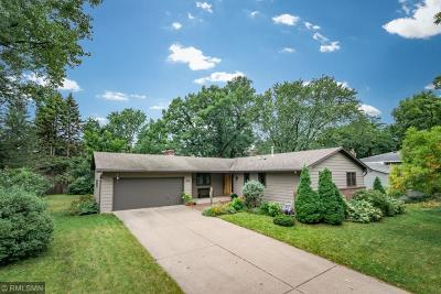 Shoreview Single Family Home For Sale: 1036 Carlton Drive