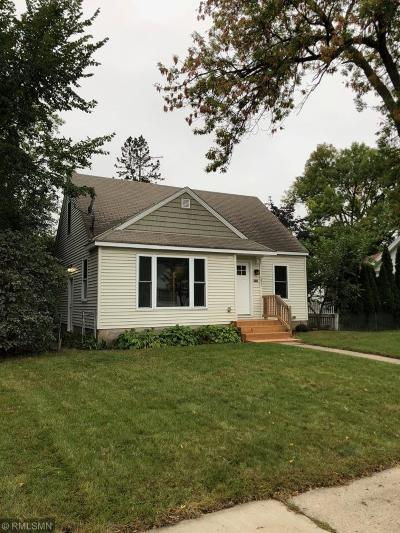 Minneapolis Single Family Home For Sale: 4831 Fremont Avenue N