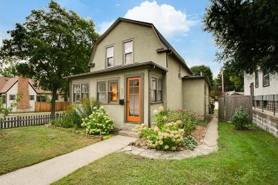 Minneapolis Single Family Home For Sale: 4301 Elliot Avenue