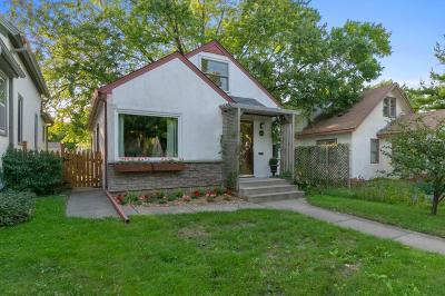 Minneapolis Single Family Home For Sale: 3106 Garfield Street NE