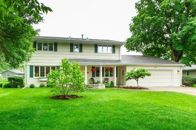 Edina MN Single Family Home For Sale: $665,000