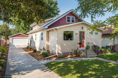 Robbinsdale Single Family Home Sold: 3957 Hubbard Avenue N
