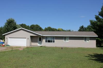 Menomonie Single Family Home For Sale: 5665 690th