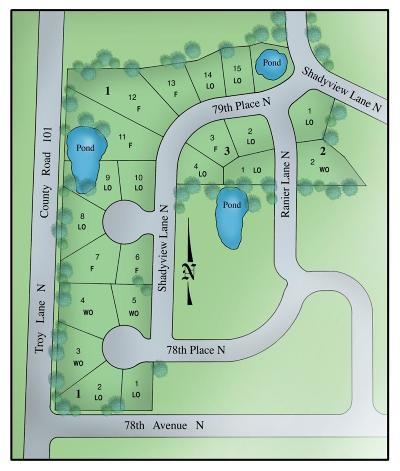Maple Grove Residential Lots & Land For Sale: 7877 Shadyview Lane N