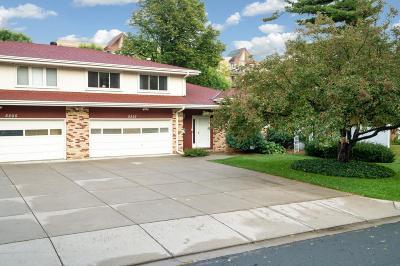 Edina Single Family Home For Sale: 5207 Grandview Lane