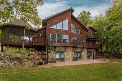 Brainerd, Nisswa Single Family Home For Sale: 8784 Mogensen Shores Road