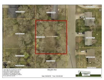 Brainerd Residential Lots & Land For Sale: Tbd Graydon Ave